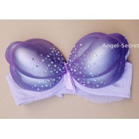 BB4 cosplay photo shooting METALLIC purple pearls shell bra MERMAID Ariel