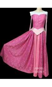 P370  Aurora sleeping beauty Cosplay Costume Dress tailor made women princess