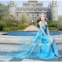 3800S  Elsa  Costume Dress  with mat3 (fabric) upgrade to CL28