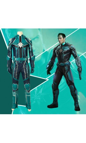 A022 captain marvel  super-heros Yon-Rogg cosplay costumes