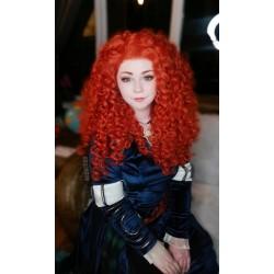 B160 Merida gown brave Movies Cosplay Costume dress brave 2012