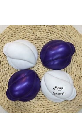 BB2 White No paint  MERMAID bra  Ariel shell