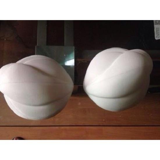 BB2 White No paint  MERMAID bra  Ariel shell