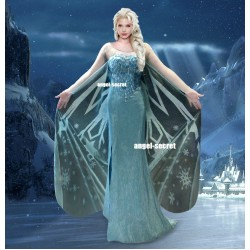 C737 Frozen Elsa Costume corset only