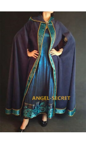 CL21 Princess Merida Long cloak the brave corduroy