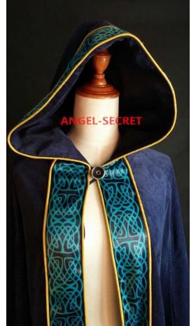 CL21 Princess Merida Long cloak the brave corduroy