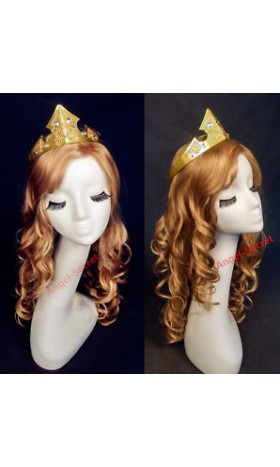 CR53 sleeping beauty crown Aurora princess cosplay women