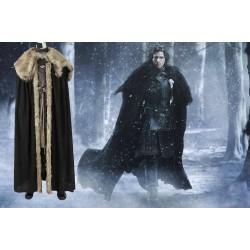 GT008 Game of Thrones season8 cosplay jon snow costumes