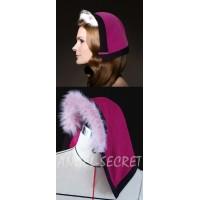 HA13 Anna  furry fur hat