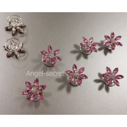 HP3 hairpin for 2015 NEW  Frozen Fever Elsa cosplay pink crystal