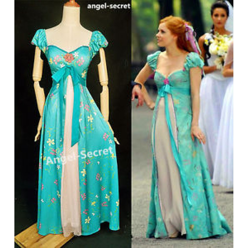 J230 women curtain dress Giselle cosplay from Enchanted TEAL ...