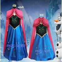 J705 ANNA Cosplay Costume Dress