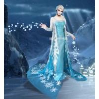 J710 ELSA Cosplay Costume Dress