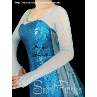 J757 Frozen ELSA Cosplay Costume