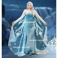 J767WC Elsa dress without cape