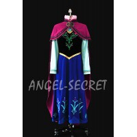 J787  ANNA Cosplay Costume included vest, skirt, shirt only.