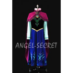 J787S  ANNA Cosplay Costume included vest, skirt, shirt only.