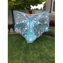 J808 Elsa Cosplay Costume  dress