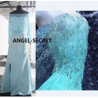 MAT10 material set iridescent sequins for J889 and J789 elsa dress.