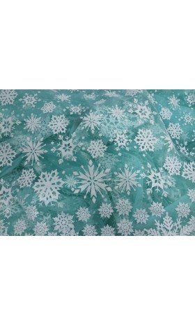 MAT2 White snow Fabric