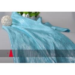 MAT3 meter Frozen Inspired Elsa silver blue viscose Fabric Cape  138CM Wide NWT