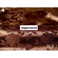 """MAT42 Solid brocade 58"""" WIDE BY YARD rose costume pattern jacquar FABRIC satin"""