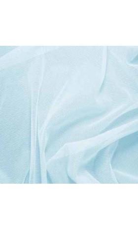 MAT50 Nylon Spandex Sheer Stretch Mesh Fabric Baby Blue