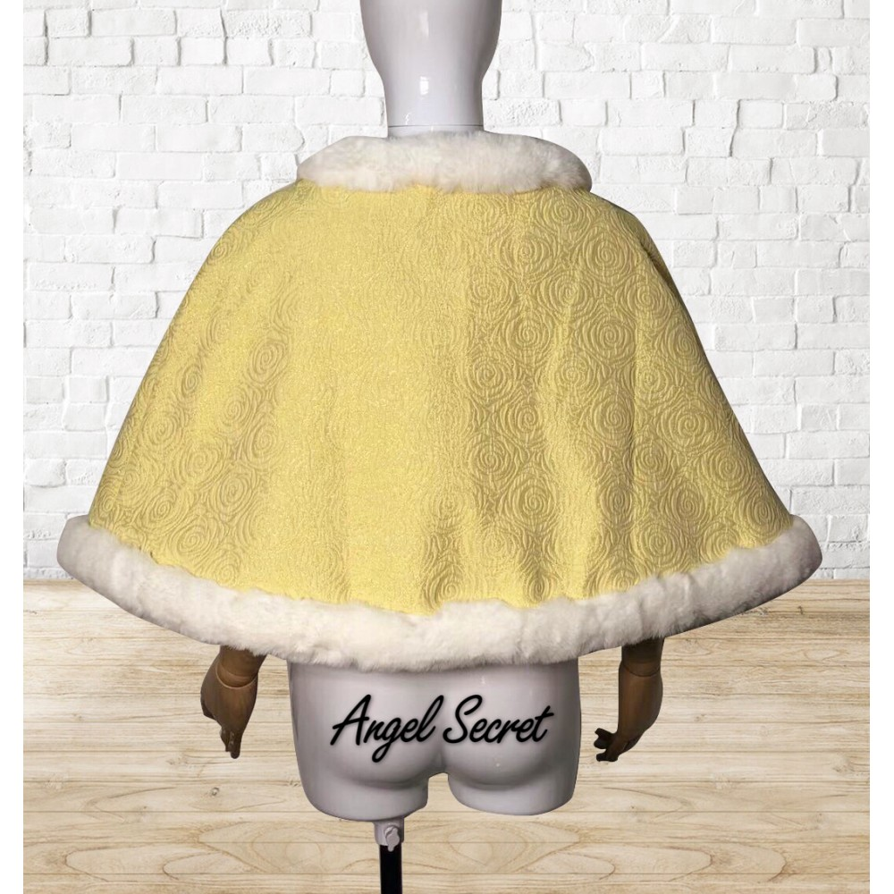 004696f46 c106 COSPLAY beauty and beast princess belle cape