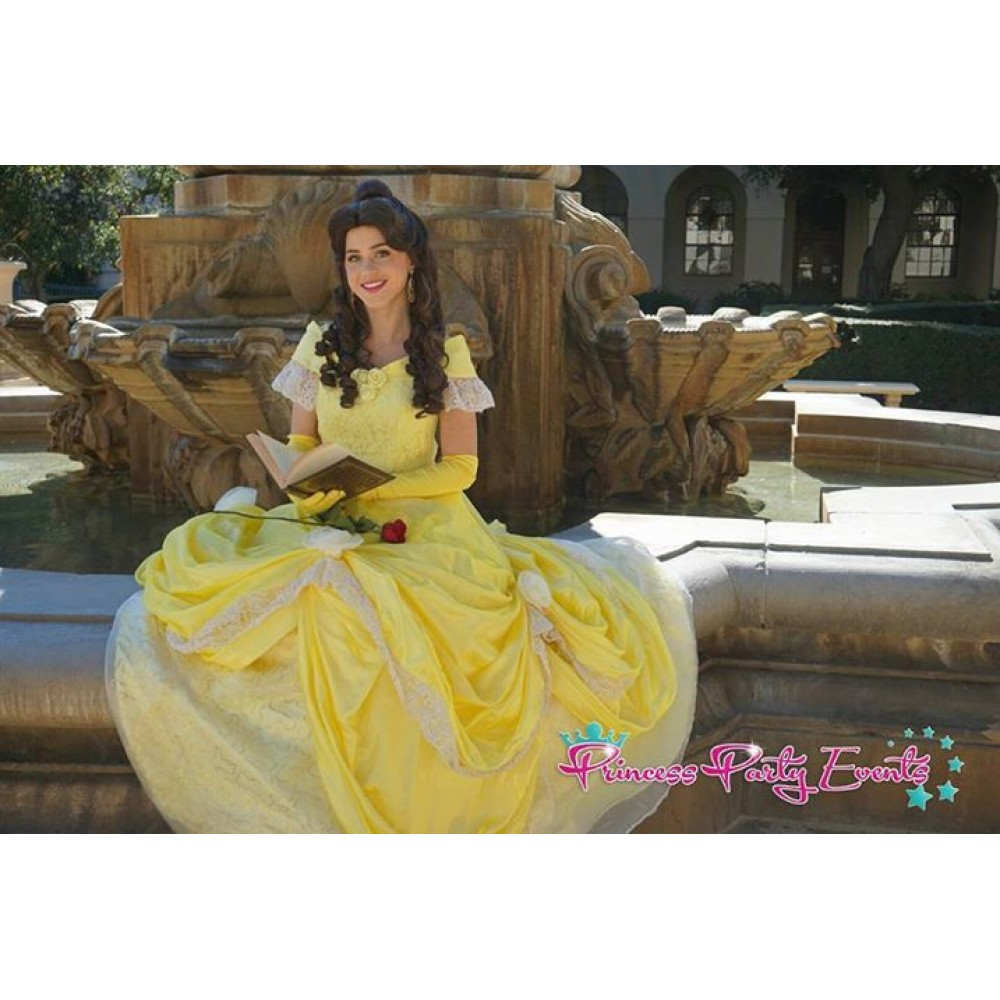 P132 COSPLAY beauty and beast princess belle Costume tailor ...
