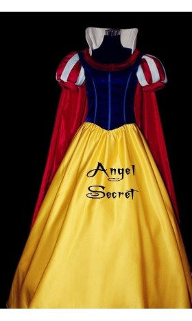 P134 COSPLAY Dress Princess snow white Costume tailor made kid adult GOWN