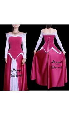 P136 COSPLAY Dress Princess sleeping beauty Costume tailor made Princess Aurora