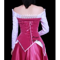 P136 COSPLAY Dress Princess sleeping beauty Costume tailor made Princess Aurora