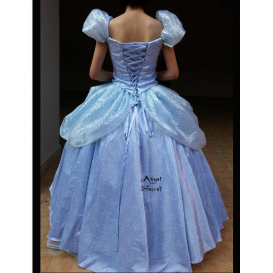 P159 Cinderella new park version costume made cosplay dress