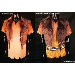 P199 Terrence fairy pixie hollow full set shirt vest  pants belt