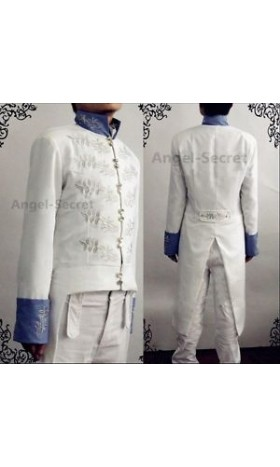 P221 prince charming Richard Madden cinderella movie 2015 jacket and pants