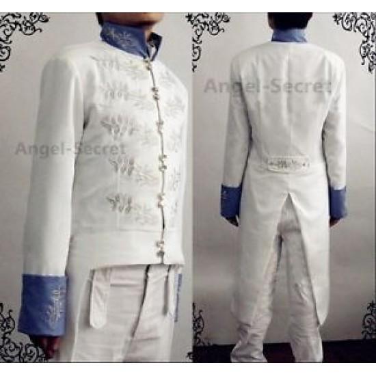 P221 prince charming Richard Madden cinderella movie 2015 jacket and pants