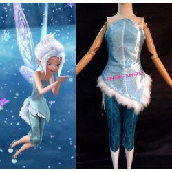P256 periwinkle costume corset feather and pants SISTER OF TINKERBELL FAIRY blue