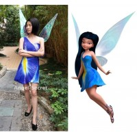 P277 silvermist costume iris print version dress