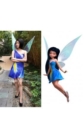 P277 silvermist costume iris print version dress