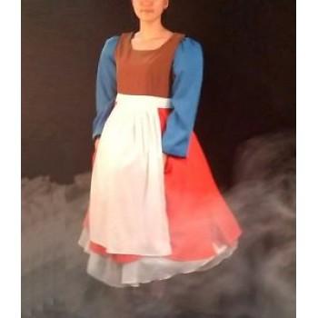 P321 Cinderella transformation dress, split dress