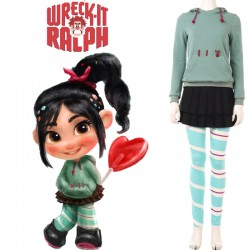 DI001 Ralph Breaks the Internet Vanellope von Schweetz cosplay costume