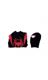 S005 Marvel Spider-Man: Into the Spider-Verse Miles Morales cosplay costumes