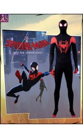 S004 Marvel Spider-Man: Into the Spider-Verse Miles Morales cosplay costumes