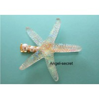 SF2 sea stars hairpin for Ariel Symphony Pearl iridescent