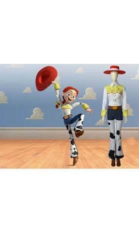 T001 toystory4 jessie cosplay  costome