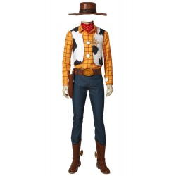 T002 toystory Woody cosplay  costome