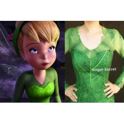 PS456 Tinkerbell shirt  and pant of p456 long sleeves with open to place wings