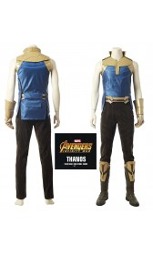A006 Marvel Comics Avengers Infinity War Thanos cosplay costumes