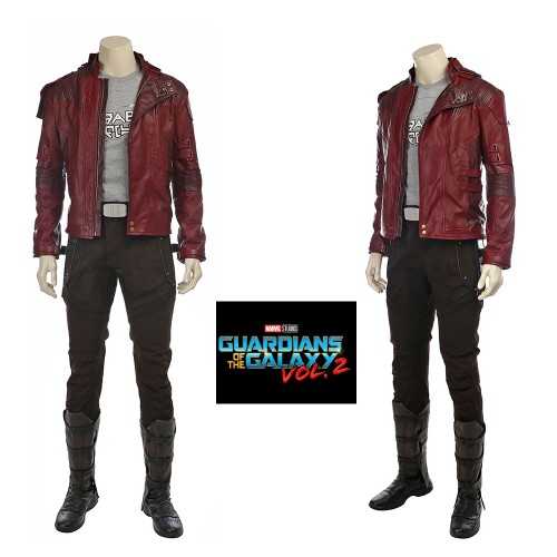 A008 Marvel Comics Avengers Infinity War Guardians of the Galaxy Peter Quill Star-Lord cosplay costumes
