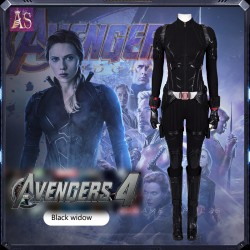 A011 Marvel  The avengers 4 endgame Black Widow Natasha Romanoff Scarlett Johansson cosplay costumes